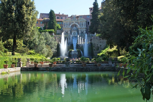 Villa d'Este , Tivoli.  The ultimate power garden.
