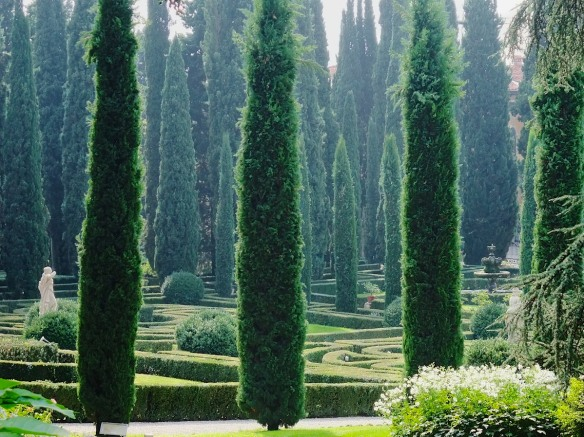 Giardini Giusti in Verona exemplifies a commonly held perception of the Italian garden.