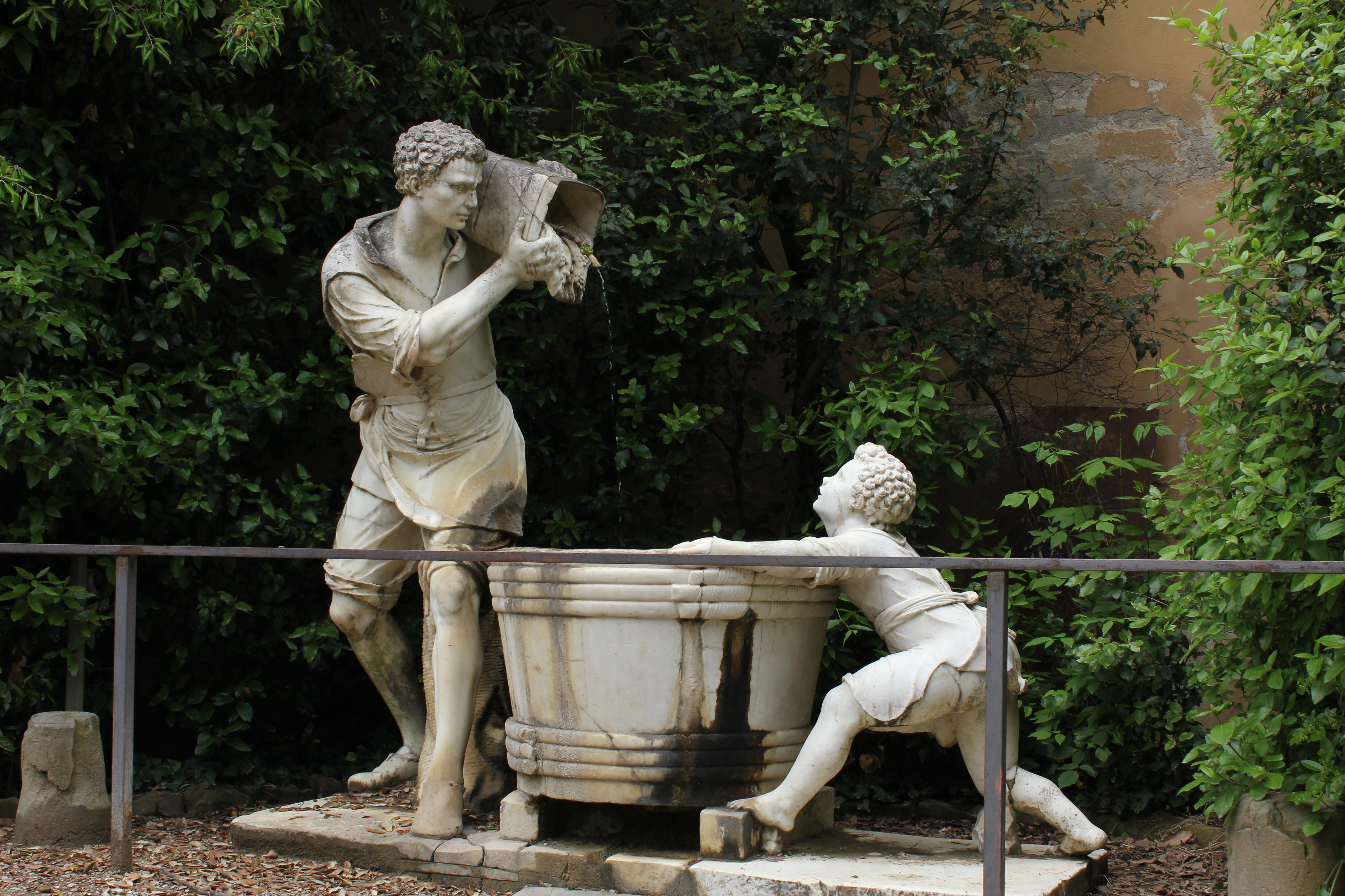 Boboli Gardens Part II Loving Italy S
