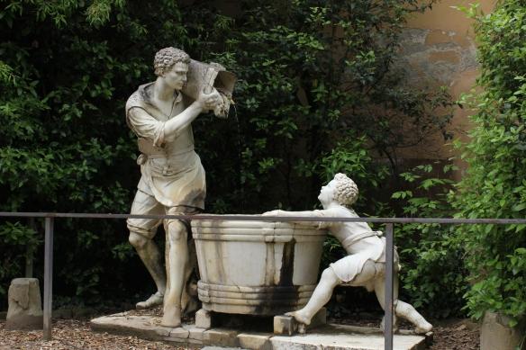 Another modern sculpture.