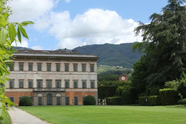 Villa Reale di Marlia.  Elisa Bonaparte's pleasure palace.