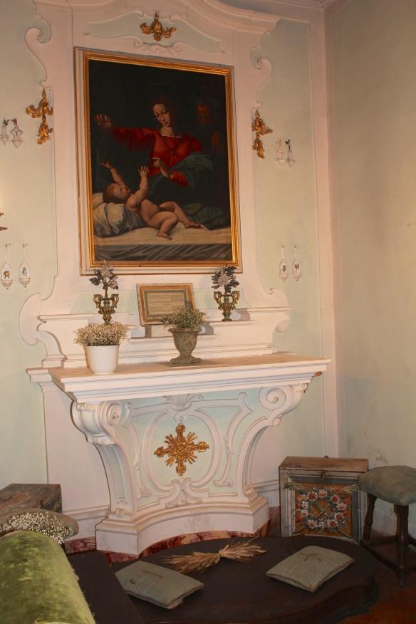 The family chapel.