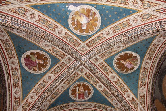 Detail of the ceiling.