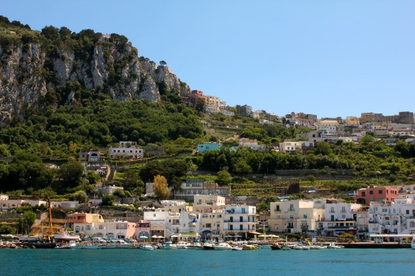 Capri, where the only industries are limoncello and sandals.
