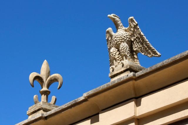 Symbols of the d'Este.