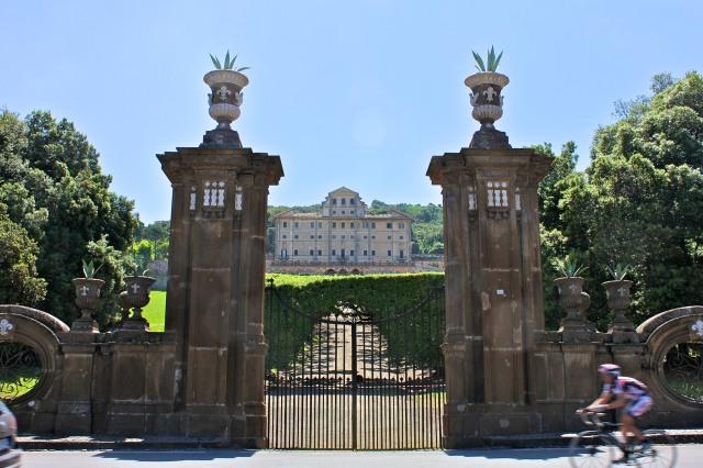 Villa Aldobrandini.  The most grandiose villa.