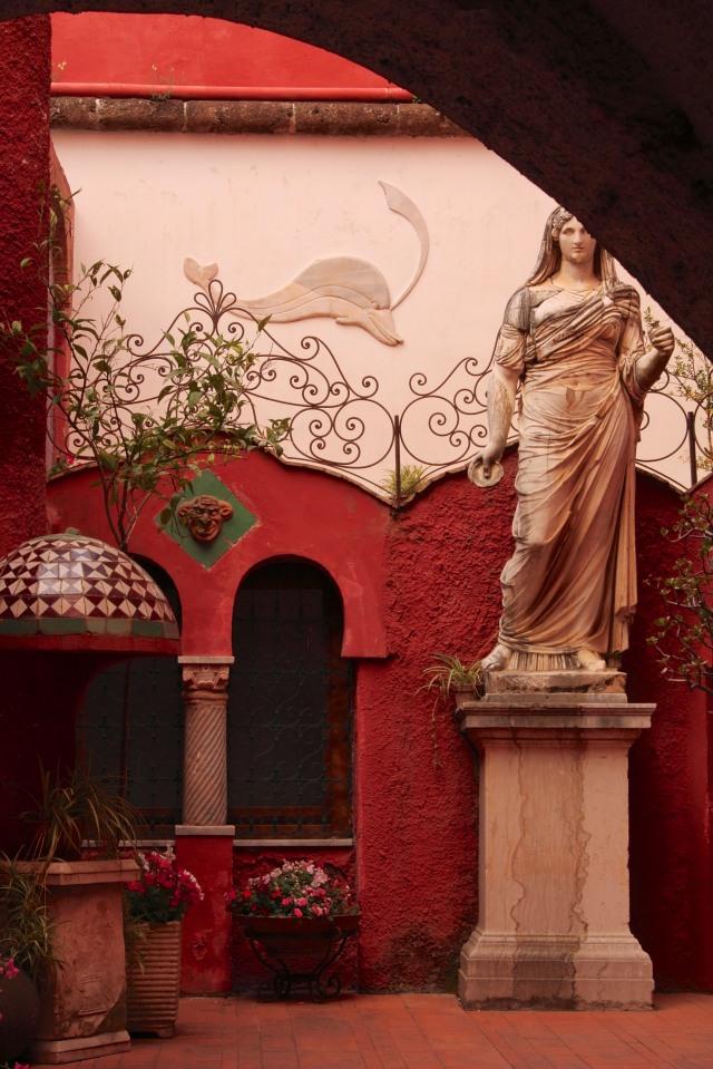 La Casa Rossa again, in May.