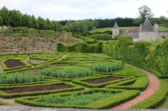 Le Potager de l'Abondance (Veggie Garden of Abundance).