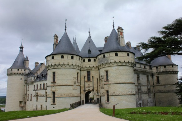 Chaumont-sur-Loire, the castle with one of my favourite gardens.