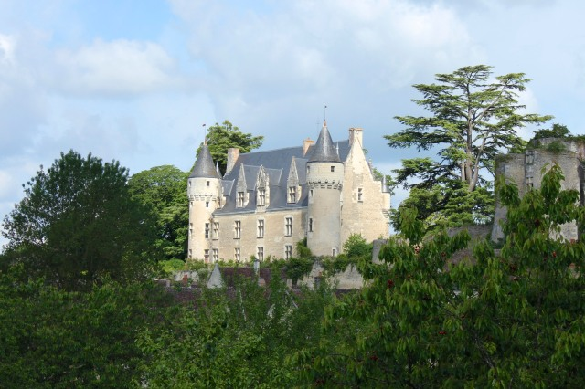 This being the Loire, even though it was little more than a hamlet, it had the requisite castle.