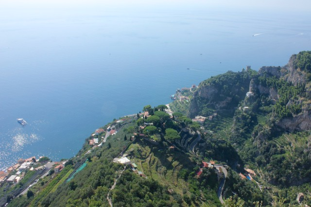 The views from the Terrazzo dell'Infinito were as stunning as ever.