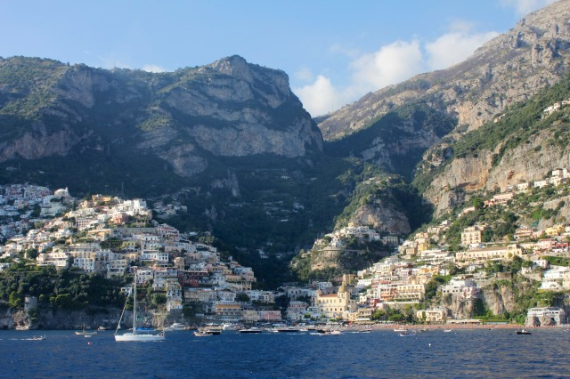 In spite of all the confusion as to exactly which route the gods took, it is generally agreed that the path along the mountains inland from Positano was part of it.