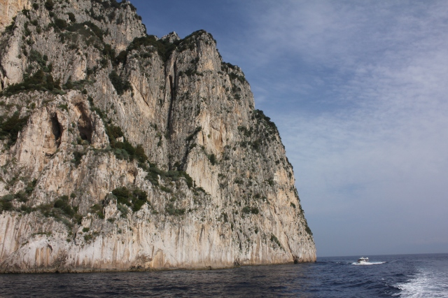 Capri may only be a few square miles, as the crow files, but down at ground level, it's another story.