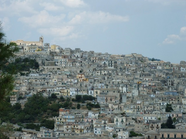 Modica..It may be a UNESCO  World Heritage Site, but all I could see the makings of a nightmare.